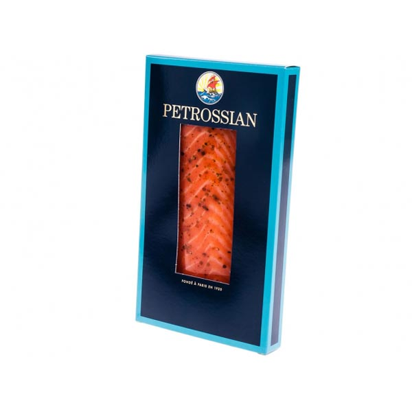 TSAR CUT® SMOKED SALMON MARINATED WITH CAUCASIAN SPICES 500G TO 800G VACUUM PACKED