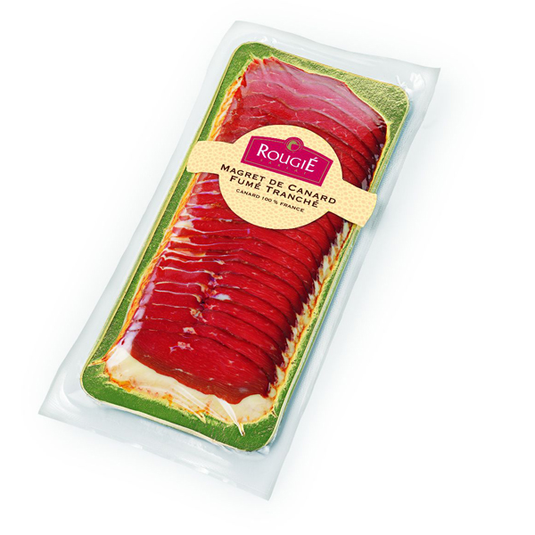 SMOKED DUCK BREAST SLICED 23 260 G