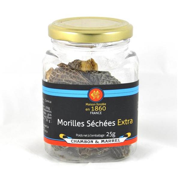 MORILLES SÉCHÉES EXTRA 25G